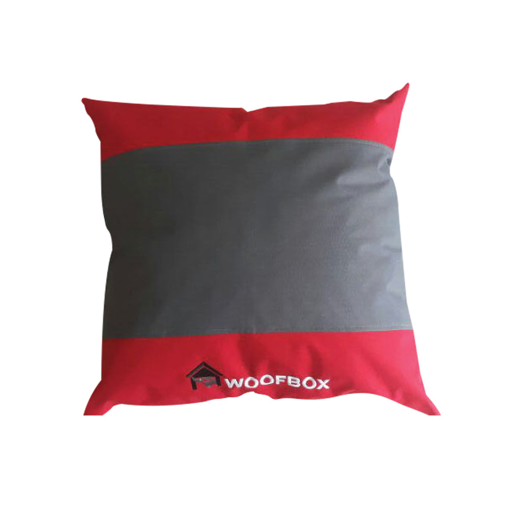 Woofbox Pillow Red Medium