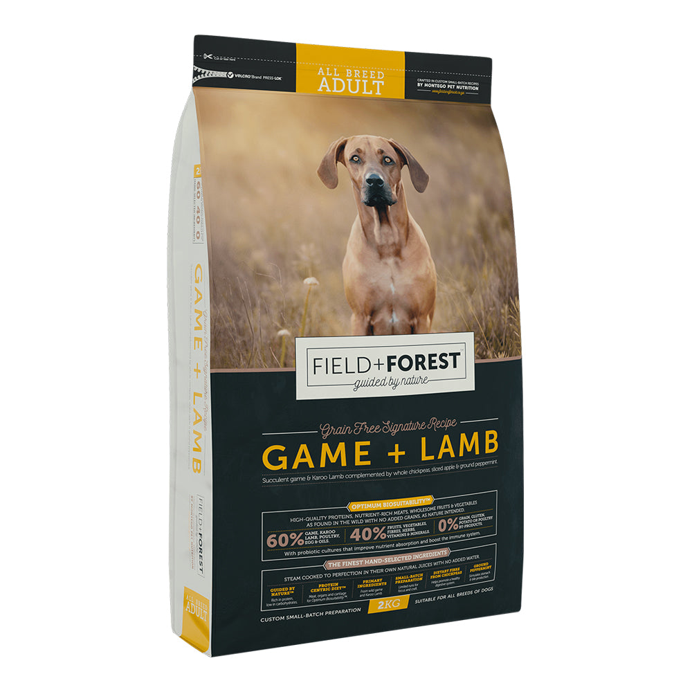 Field and Forest All Breed Adult - Game & Lamb