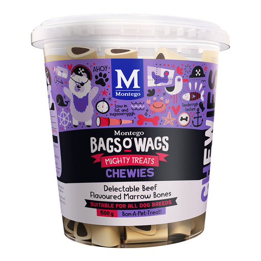 Montego Bags O' Wags Beef Flavoured Marrow Tub