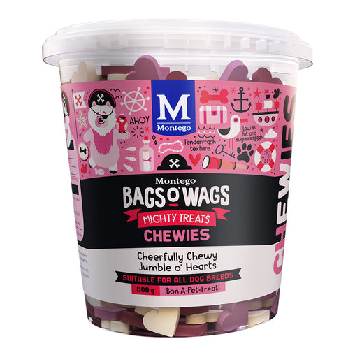 Montego Bags O' Wags Cheerfully Chewy Tub