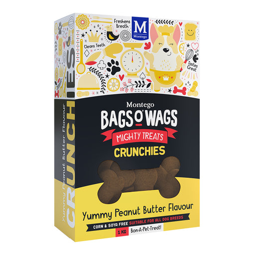 Montego Bags O' Wags Peanut Butter Crunchies