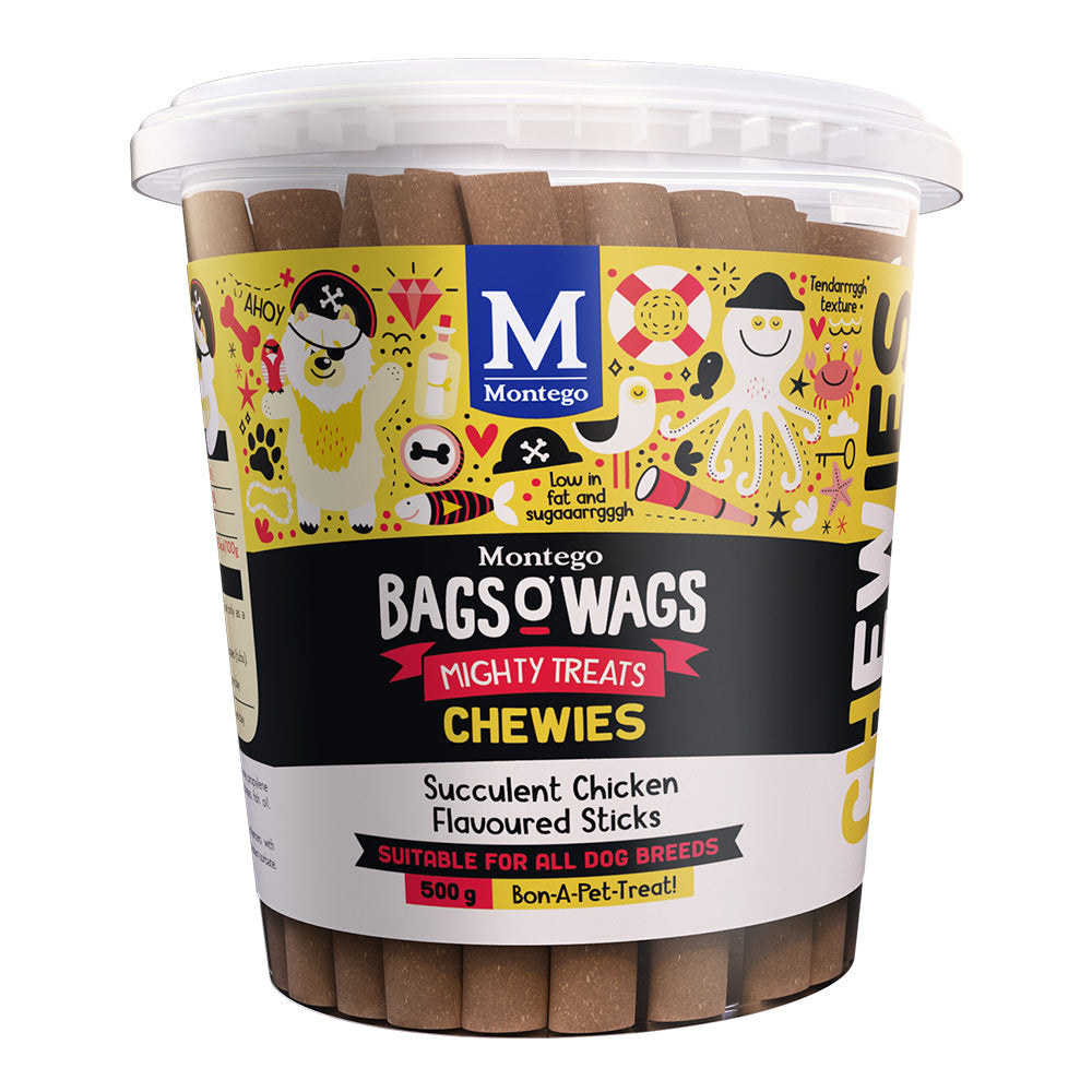 Montego Bags O' Wags Succulent Chickens Tub