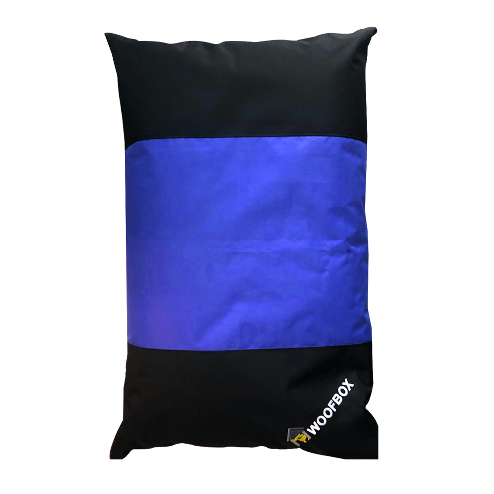 Woofbox Pillow Blue Small