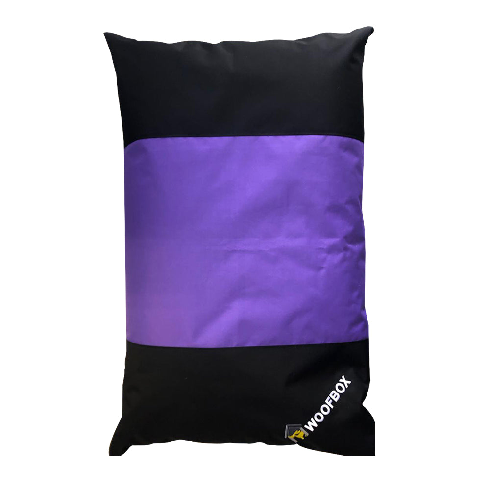 Woofbox Pillow Purple Small