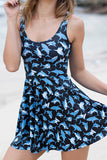Mr Shark Scoop Skater Dress