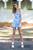 Seagull Blue Playsuit