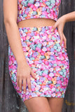 Candy Hearts Pencil Skirt