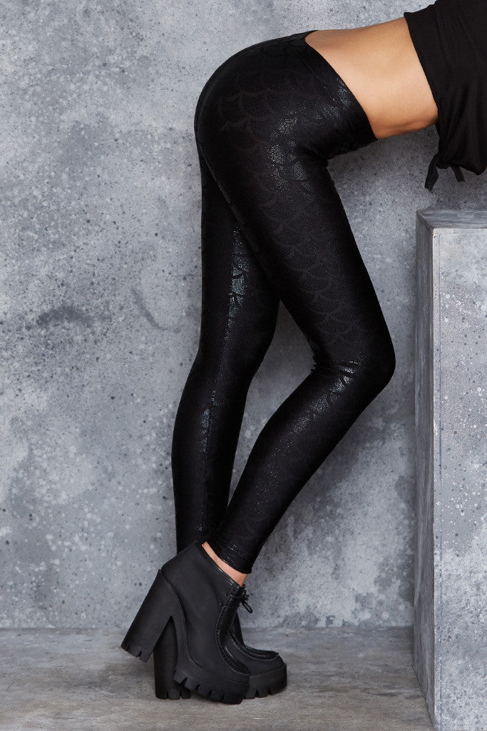 Mermaid Midnight Leggings