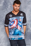Team Captain America Touchdown - LIMITED