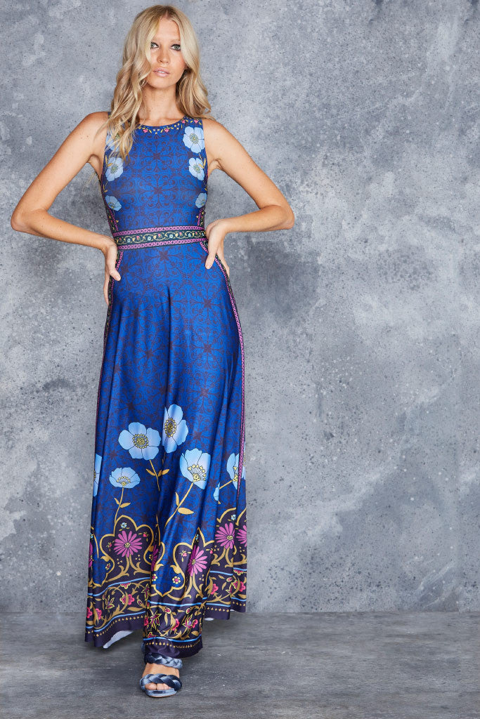 Flower Child Princess Maxi Dress