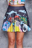 Rainbow Bridge Pocket Skater Skirt - LIMITED