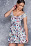 The Amazing Spider-Man Cap Sleeve Skater Dress - LIMITED