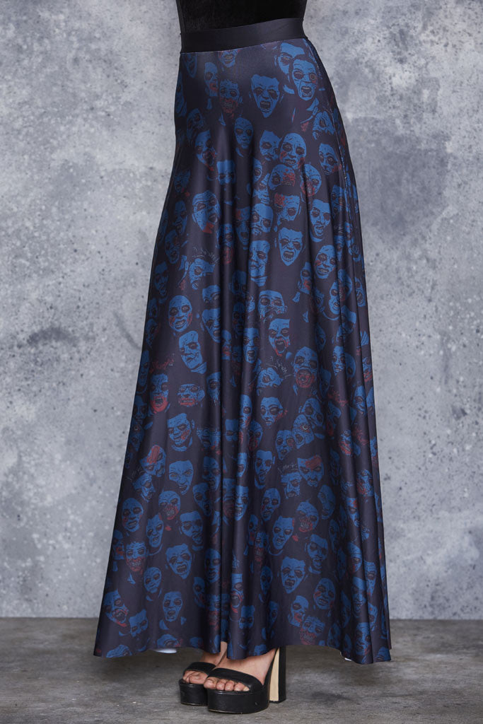 Zombie Invisible Maxi Skirt - LIMITED