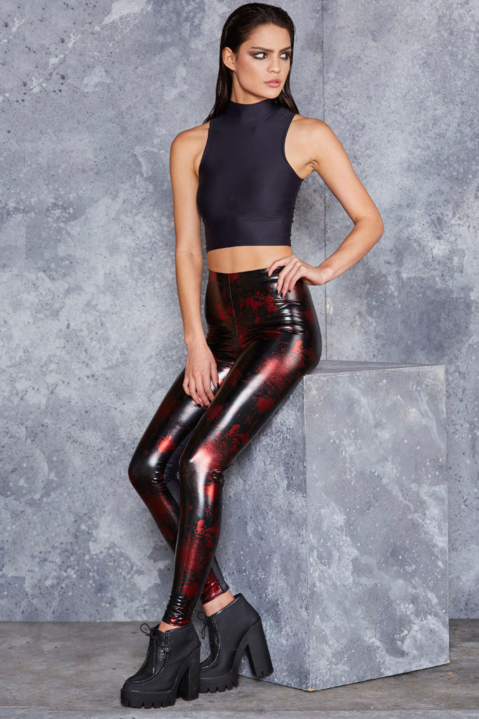 Death By Disco New Slicks Leggings
