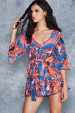 Phoenix Arising Kimono Playsuit - LIMITED
