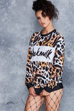 Bengal Spliced Sweater - LIMITED