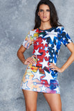 Starry Starry Rat Tee Dress - LIMITED