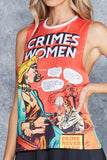 Crimes By Women Muscle Tank - LIMITED