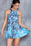 Voodoo Galaxy Reversible Skater Dress - LIMITED
