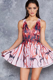 Bloody Prom Queen Marilyn Dress