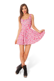 Princess Bubblegum Scoop Skater Dress