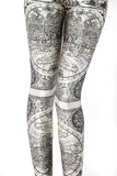 Ancient Maps Leggings