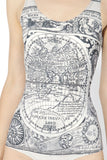 Ancient Maps Swimsuit