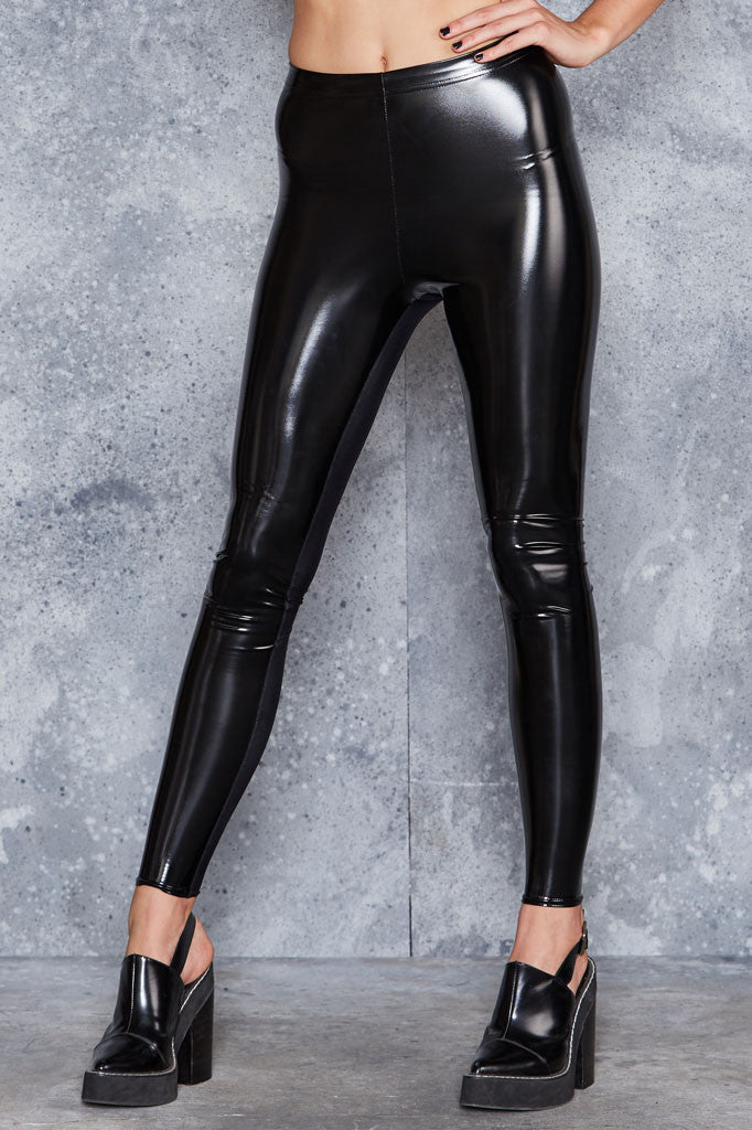 New Slicks Black Leggings