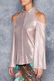 The Rose Gold Rogueish Top - LIMITED