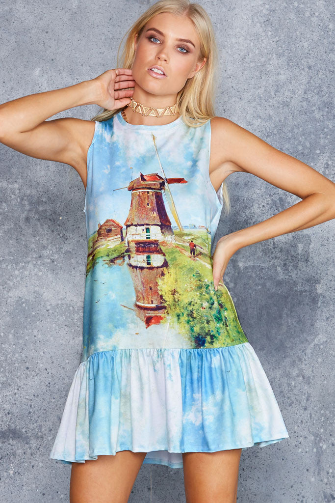 Windmill Friller Dress - LIMITED
