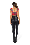 Tartan Red Nana Suit Top