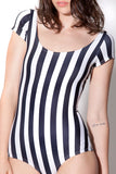 Beetlejuice Cap Sleeve Swimsuit