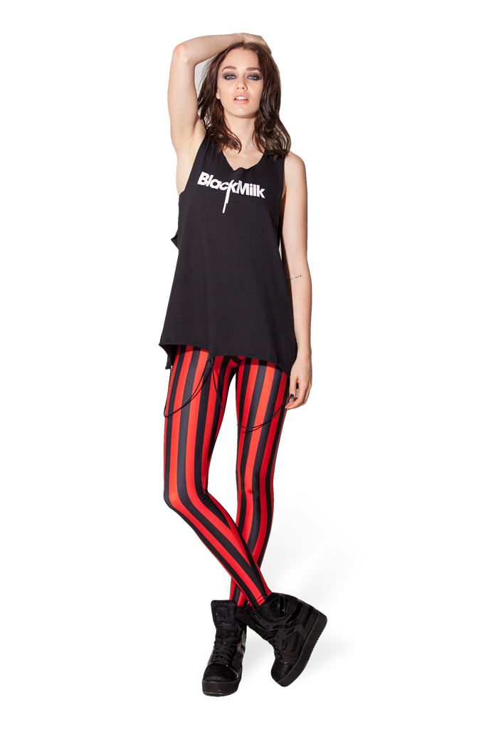 Beetlejuice Red Leggings