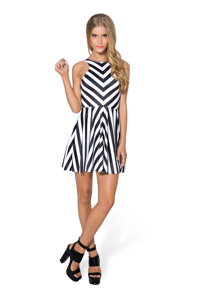 Beetlejuice Remix Reversible Skater Dress