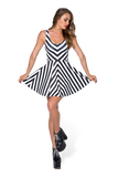 Beetlejuice Remix Scoop Skater Dress