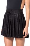 Black Wax Cheerleader Skirt