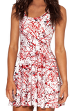 Blood Splatter Skater Dress