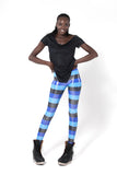 Blue Blue Black Leggings
