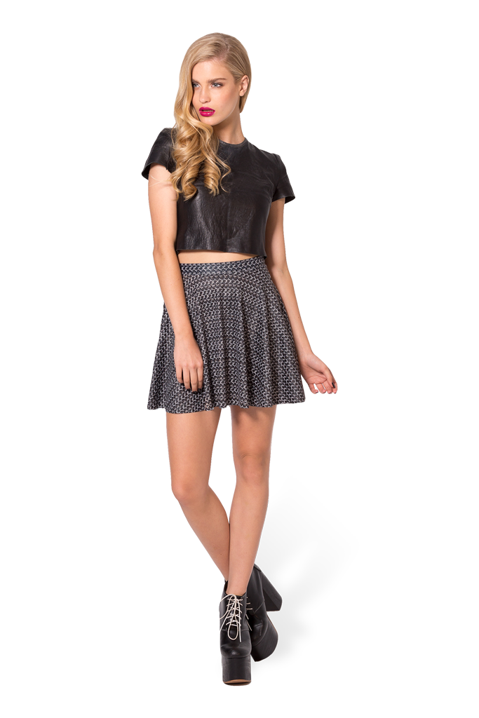 Chainmail Skater Skirt