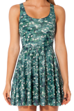 Christmas Tree Reversible Skater Dress