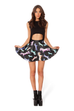 Cotton Candy Corn Skater Skirt