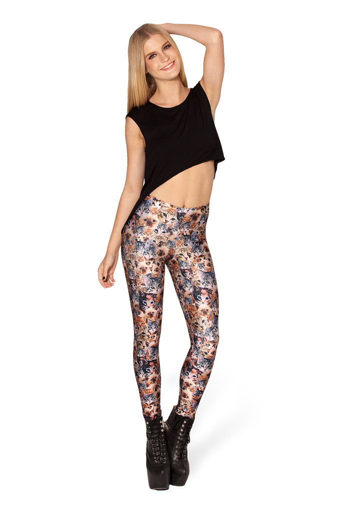 Crazy Cat Lady Leggings – Black Milk Clothing