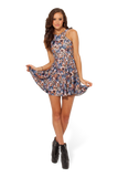 Crazy Cat Lady Reversible Skater Dress