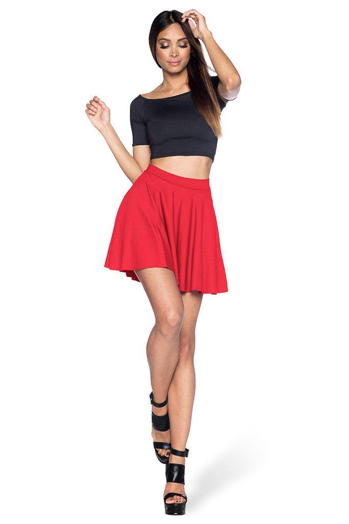 Awesome Red Skater Skirt