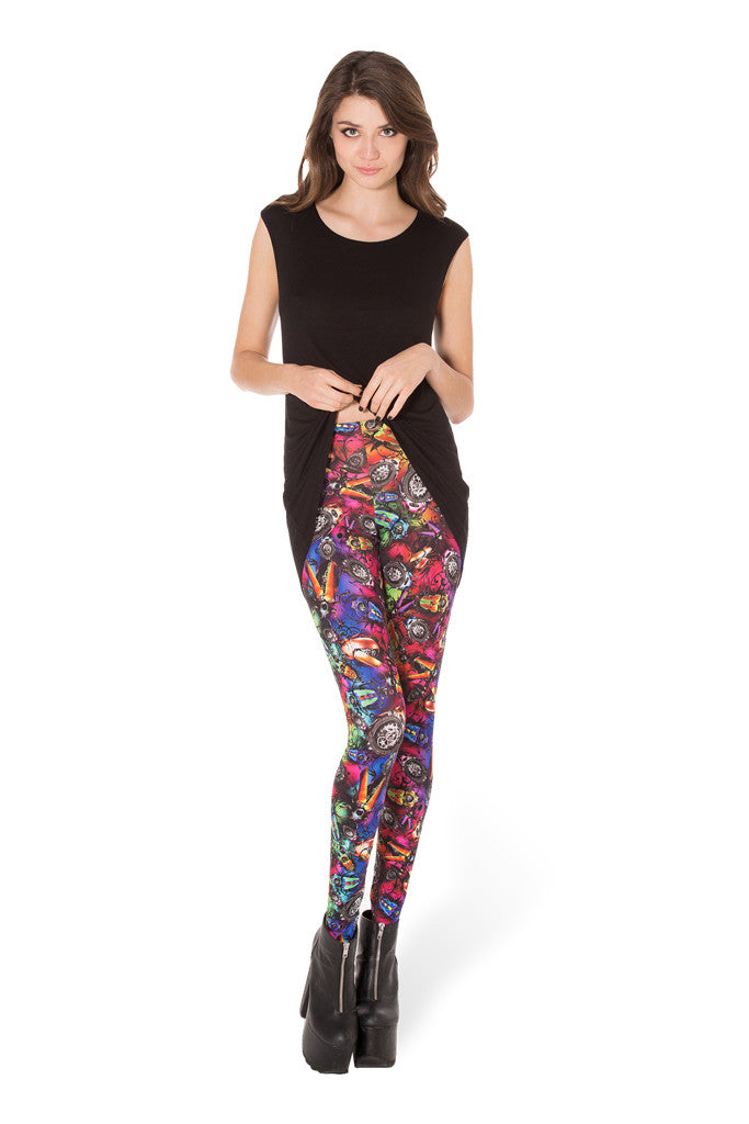 Bugs On Acid Leggings
