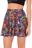 Bugs On Acid Skater Skirt