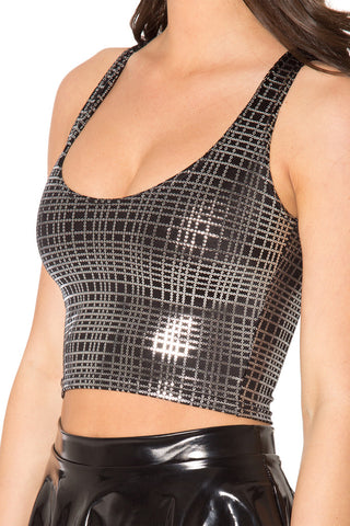 Disco Tribe Reversible Crop - LIMITED