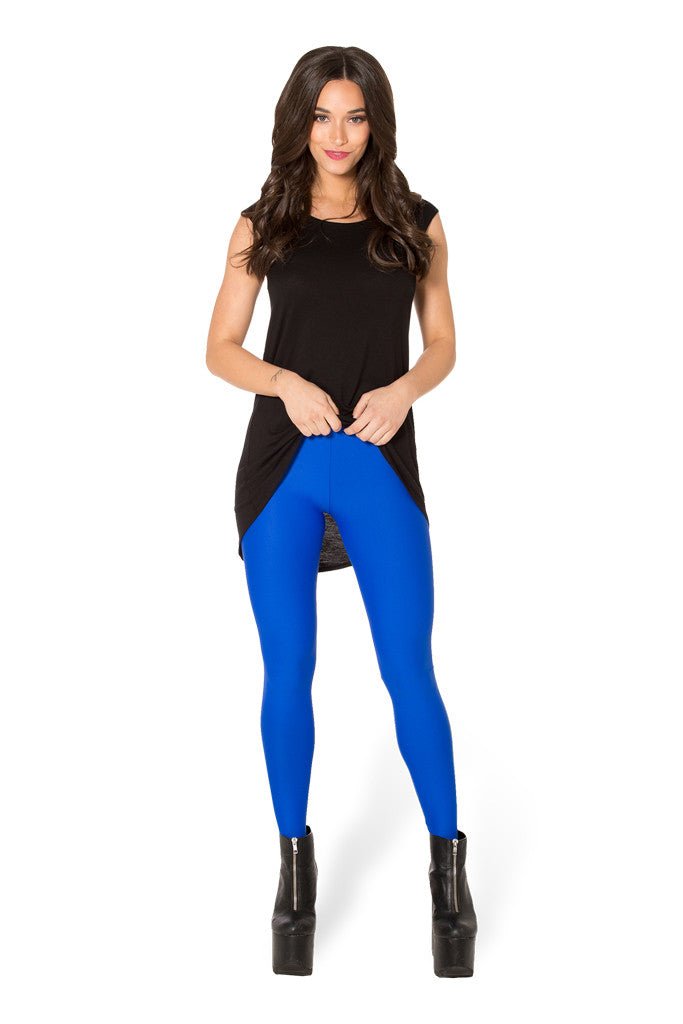 Matte Royal Blue Leggings