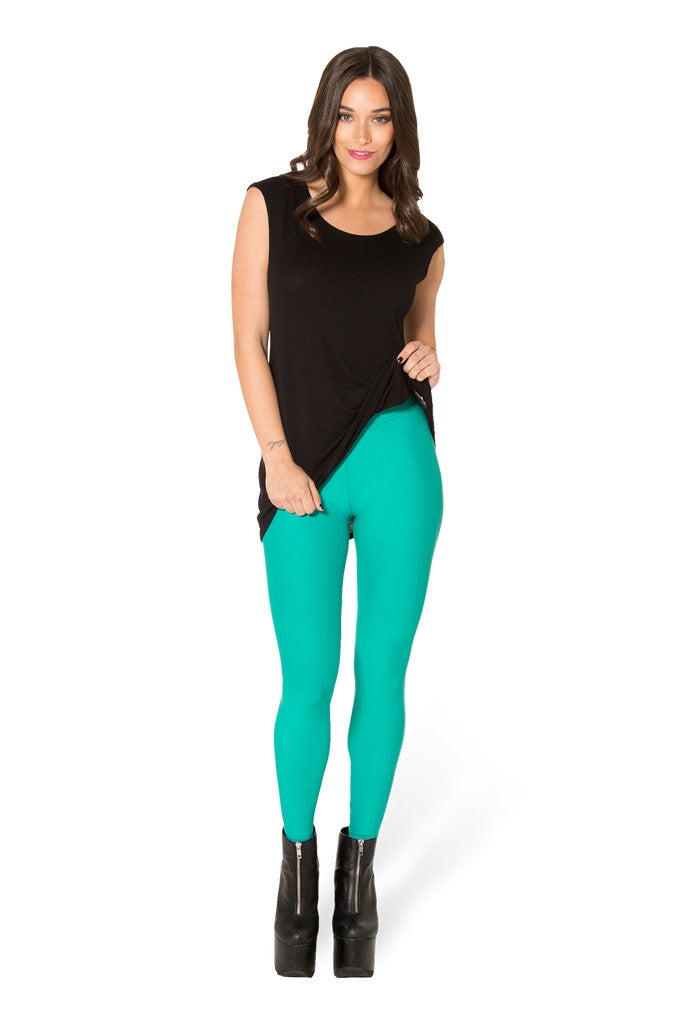 Matte Jade Leggings
