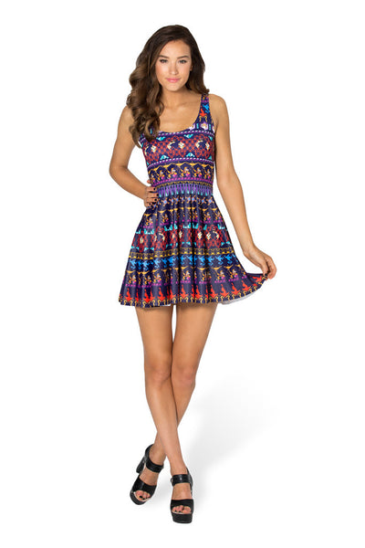 A Whole New World Scoop Skater Dress - LIMITED